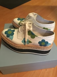 authentic prada shoes with box and dust bag Vancouver