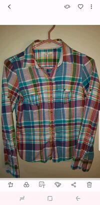 American Eagle Plaid Spring Women's Top Barrie, L4N 9T3