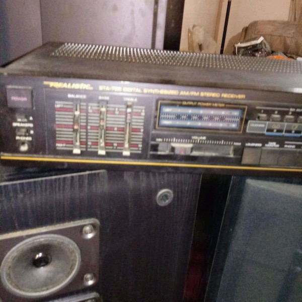 Realistic & Fisher Stereo System