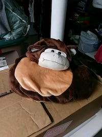 brown and white dog plush toy Chicago, 60641