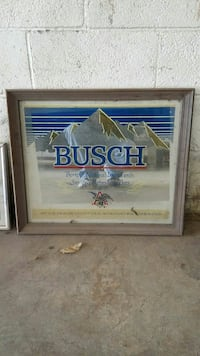 Busch beer mirror Charleston, 25313
