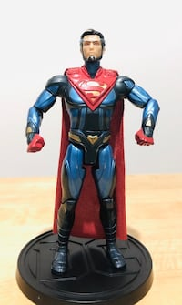 DC MultiVerse Injustice 2 - Superman Platinum Figureb