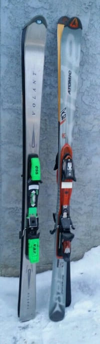 2 PAIRS OF HIGH QUALITY SKIS *WITH BINDINGS*!! Edmonton, T6R
