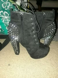 Platform spike booties Washington