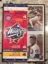 Chicago Cubs World Series 1998 Glenview, 60025