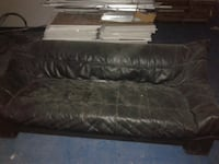 Black Leather Sofa 3 Seater Only Collection London