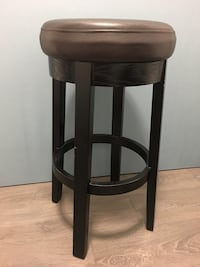 Brown Stool with swivel seat Burnaby, V3N 2M7