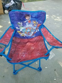 blue and red camping chair Merced, 95340