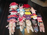 Baby Girl Clothing Lot and Baby Accessories  641 km