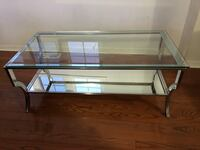 Mirrored glass coffee table  Mississauga, L4Z 0B2