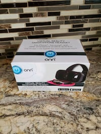 New in box virtual reality smartphone headset