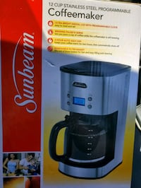 Sunbeam 12 cup programmable coffee maker Pickering, L1V 6S4