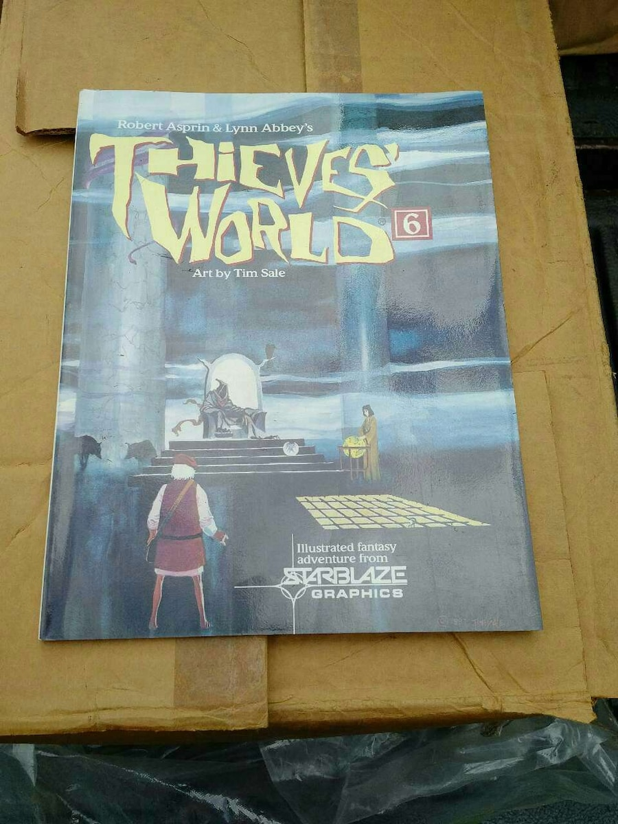 Thieves World graphic novel #6, new