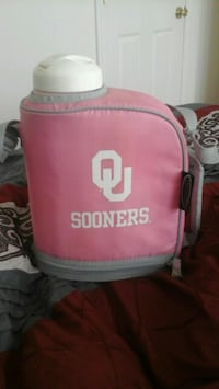OU large pink canteen! So cute and barely used. Tulsa, 74110