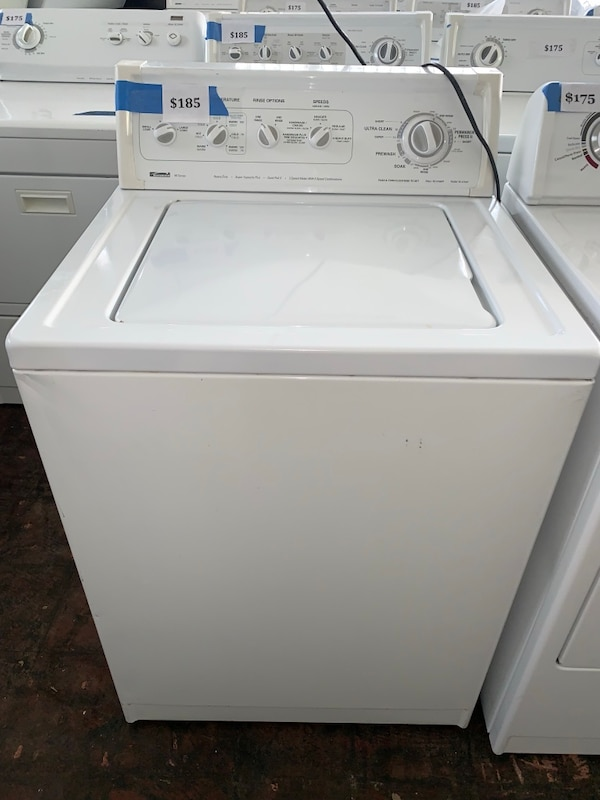 Kenmore top load washer working perfectly