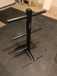 Weight stand - weights tree