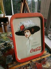 Vintage Coke Serving Tray.