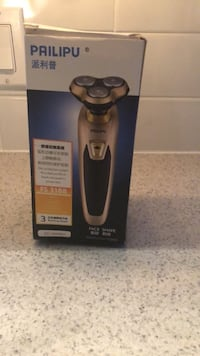 Black and gold shaver