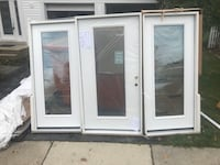 """Provia glass door with 2 side light 36"""" Silver Spring, 20906"""