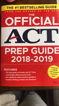 The official sat study guide book, I got it for 35 but I'll give it away for 20 Ashton, 20861