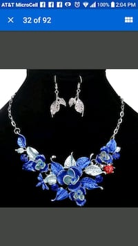 Fashion Women Necklace Jewelry Crystal Statement C Pensacola, 32506