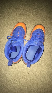 Orange and blue foampoosites shoes Norfolk, 23505