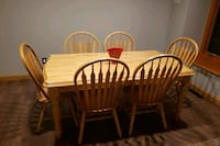 6 foot table with 6 chairs Camden County, 08012