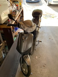 black and gray motor scooter Mississauga, L4T 3J3