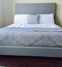 New Gray Queen Bed  40 km