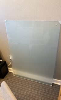 Glass dry erase board for wall-Frosted Miami, 33130