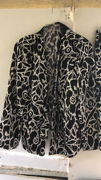women's skirt suit black and white size 20w Birmingham, 35214