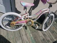 toddler's pink and white bicycle Sainte-Thérèse, J7E 2Z6
