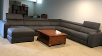 Slate Grey Reclining Sectional