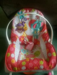 baby's pink and green bouncer Dupont, 18641