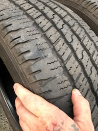 275 60 r20 all season tires. Came of a newer Dodge Ram Burnaby, V5E