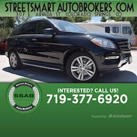 2015 Mercedes-Benz ML 250 ML 250 BlueTEC Colorado Springs, 80905