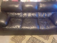 Brown leather couch 1394 mi