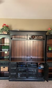 Used Budmore Rustic Brown Medium Tv Stand For Sale In Mesa