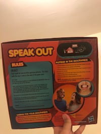 Speak out game box Pittsburgh, 15220