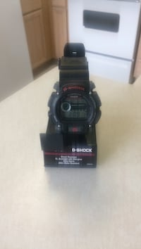 G Shock watch shock resistant, EL Blacklight with afterglow, Daily Alarm and 200m Water Resistant Greensboro, 27407