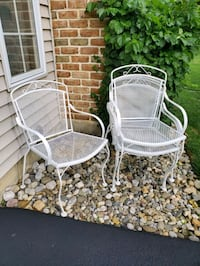 4 Vintage Wrought Iron Chairs Mid Century Modern  Macungie, 18062