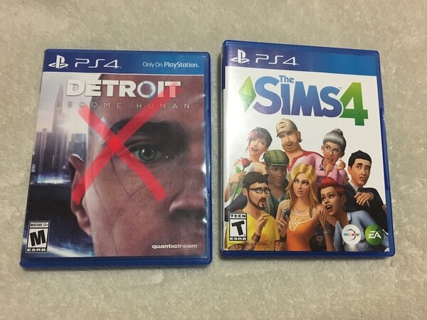 """NEW"" Sims 4 , Playstation 4"