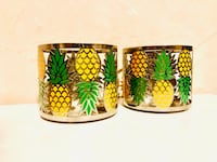 2 Candle holders | Pineapple Los Angeles, 90008