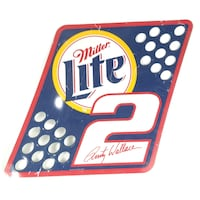 Rusty Wallace # 2 Miller Lite Pit Board 2001 Purcellville