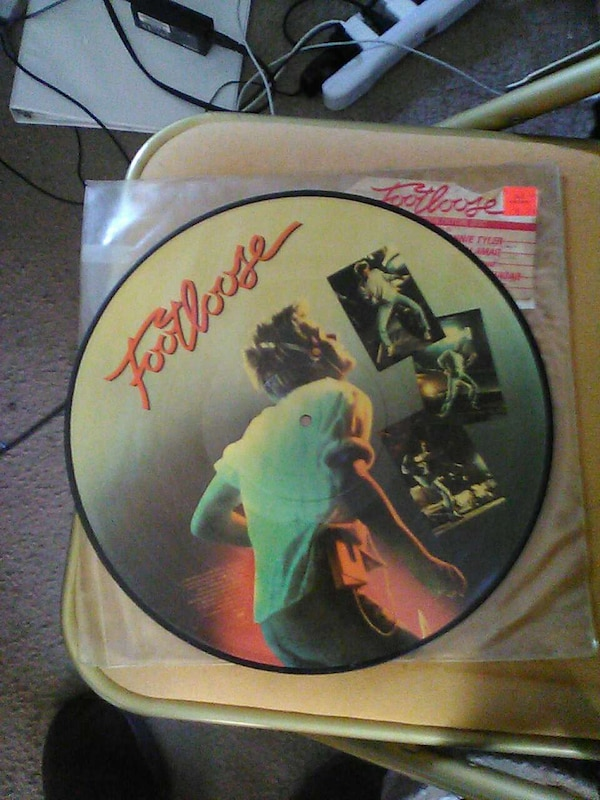 Used Footloose Soundtrack Vinyl Picture Disc For Sale In Easton Letgo