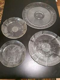 serving glass plates