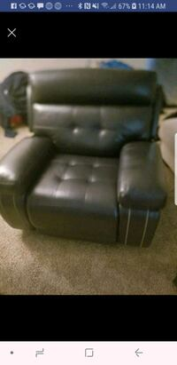 black leather recliner sofa chair Columbia, 29209