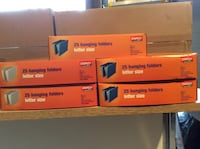 Brand new hanging file folders--have 4 boxes--2 grey, 2 navy--$5 each box Bolton, L7E 1R9