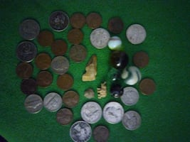 Jewelry coins collectors items real Flint