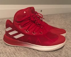 13 U.S Adidas Basketball shoes